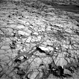 Nasa's Mars rover Curiosity acquired this image using its Left Navigation Camera on Sol 1378, at drive 270, site number 55