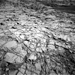 NASA's Mars rover Curiosity acquired this image using its Left Navigation Camera (Navcams) on Sol 1378
