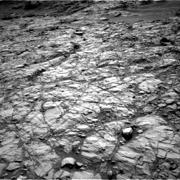 Nasa's Mars rover Curiosity acquired this image using its Right Navigation Camera on Sol 1378, at drive 42, site number 55