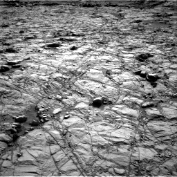 Nasa's Mars rover Curiosity acquired this image using its Right Navigation Camera on Sol 1378, at drive 78, site number 55