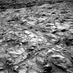 Nasa's Mars rover Curiosity acquired this image using its Right Navigation Camera on Sol 1378, at drive 114, site number 55
