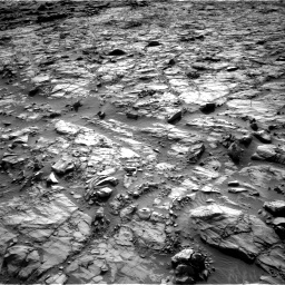 Nasa's Mars rover Curiosity acquired this image using its Right Navigation Camera on Sol 1378, at drive 126, site number 55