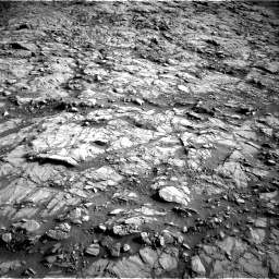 Nasa's Mars rover Curiosity acquired this image using its Right Navigation Camera on Sol 1378, at drive 132, site number 55