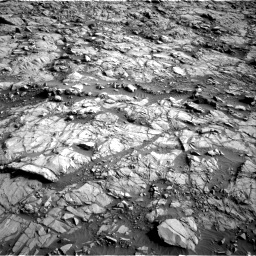 Nasa's Mars rover Curiosity acquired this image using its Right Navigation Camera on Sol 1378, at drive 138, site number 55