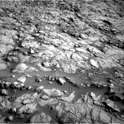 Nasa's Mars rover Curiosity acquired this image using its Right Navigation Camera on Sol 1378, at drive 150, site number 55
