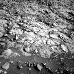 Nasa's Mars rover Curiosity acquired this image using its Right Navigation Camera on Sol 1378, at drive 156, site number 55