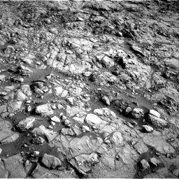 Nasa's Mars rover Curiosity acquired this image using its Right Navigation Camera on Sol 1378, at drive 168, site number 55
