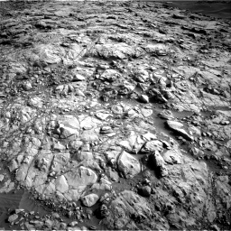 Nasa's Mars rover Curiosity acquired this image using its Right Navigation Camera on Sol 1378, at drive 180, site number 55