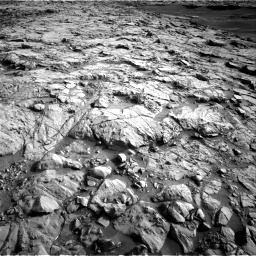 Nasa's Mars rover Curiosity acquired this image using its Right Navigation Camera on Sol 1378, at drive 198, site number 55