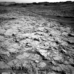 Nasa's Mars rover Curiosity acquired this image using its Right Navigation Camera on Sol 1378, at drive 216, site number 55