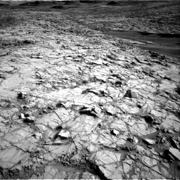 Nasa's Mars rover Curiosity acquired this image using its Right Navigation Camera on Sol 1378, at drive 222, site number 55