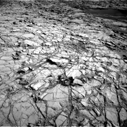 Nasa's Mars rover Curiosity acquired this image using its Right Navigation Camera on Sol 1378, at drive 264, site number 55