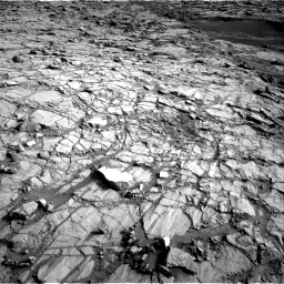 Nasa's Mars rover Curiosity acquired this image using its Right Navigation Camera on Sol 1378, at drive 270, site number 55