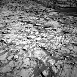 Nasa's Mars rover Curiosity acquired this image using its Right Navigation Camera on Sol 1378, at drive 294, site number 55