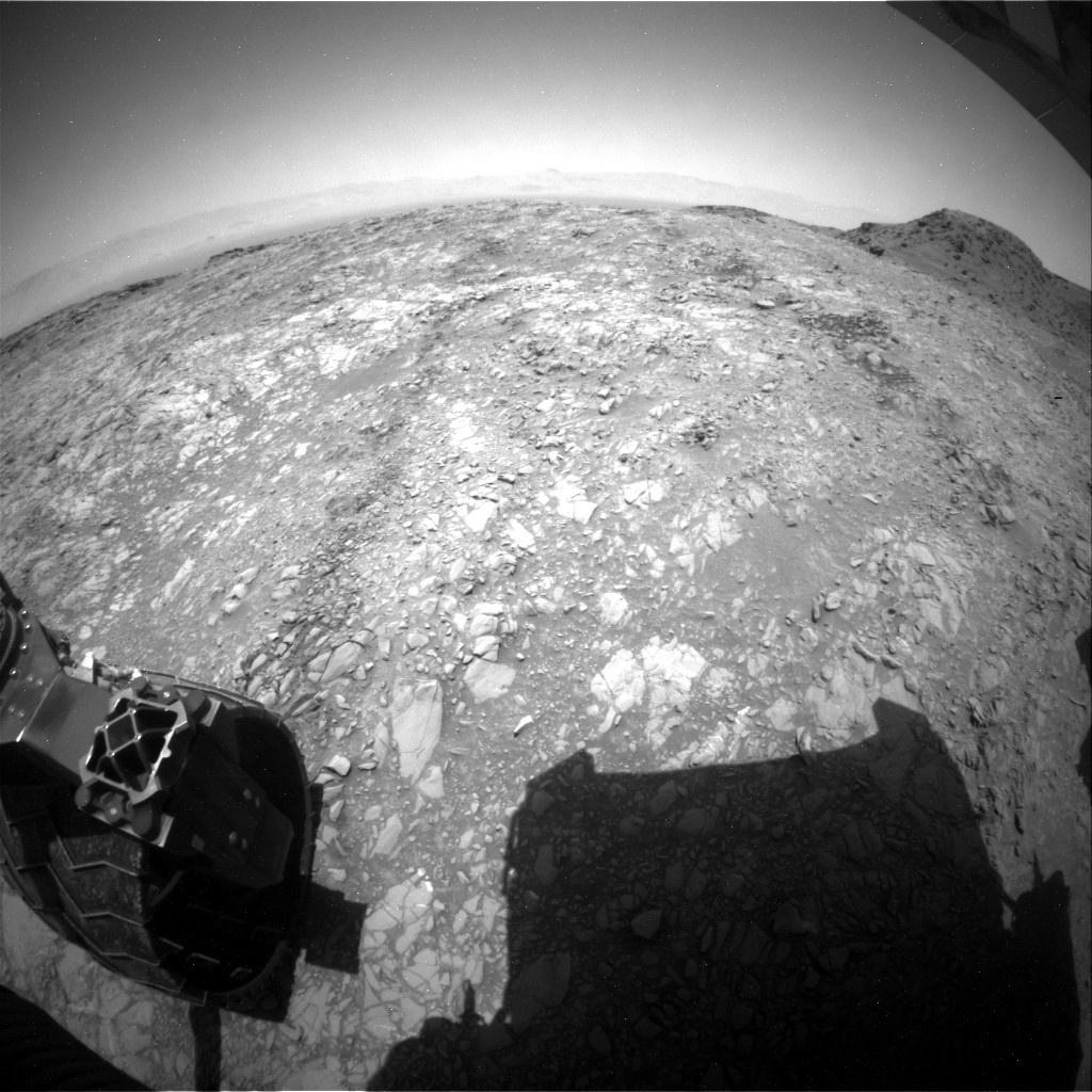 NASA's Mars rover Curiosity acquired this image using its Rear Hazard Avoidance Cameras (Rear Hazcams) on Sol 1378