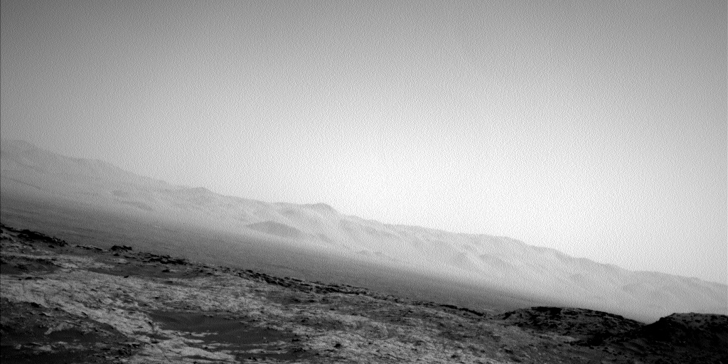 Nasa's Mars rover Curiosity acquired this image using its Left Navigation Camera on Sol 1379, at drive 310, site number 55