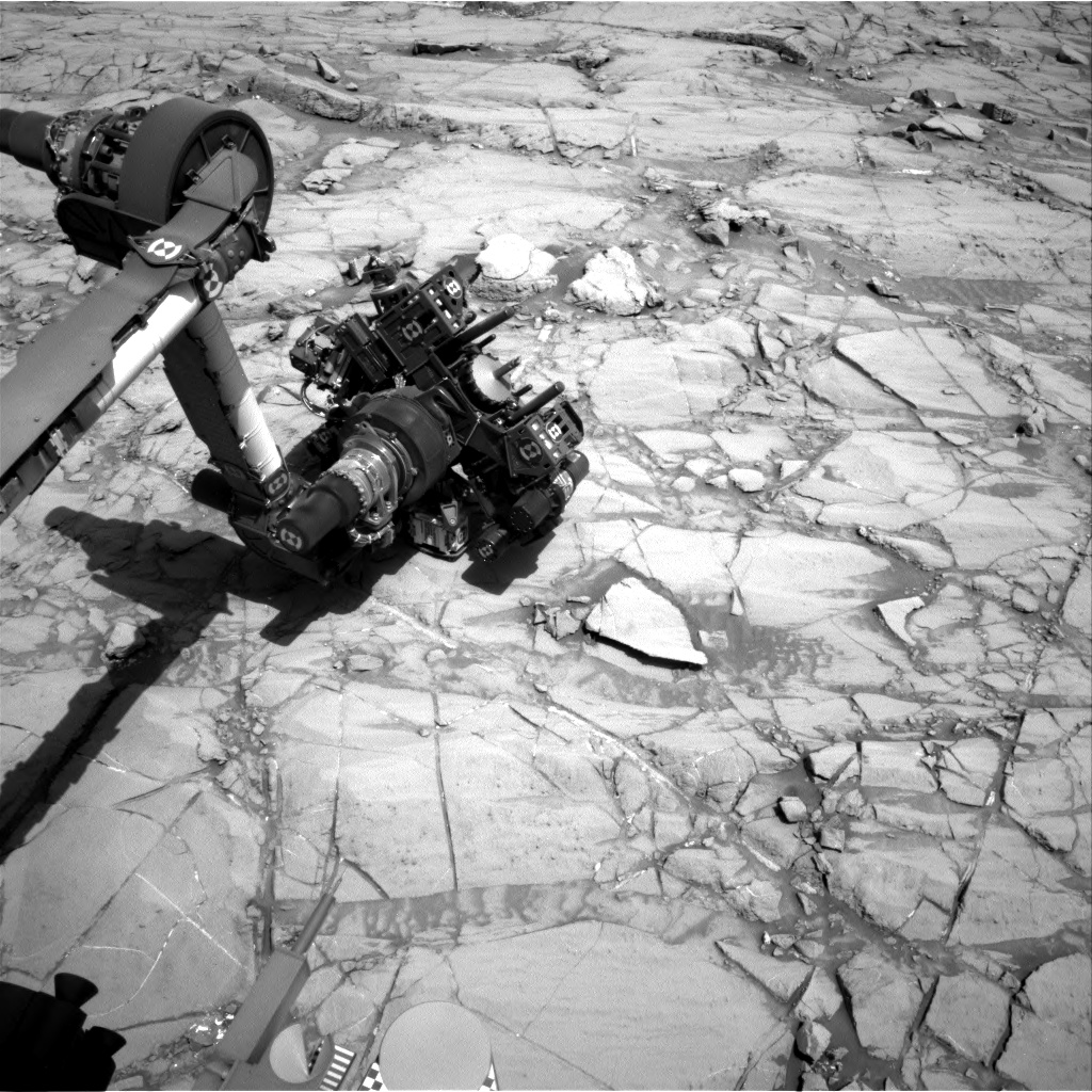 Nasa's Mars rover Curiosity acquired this image using its Right Navigation Camera on Sol 1381, at drive 310, site number 55