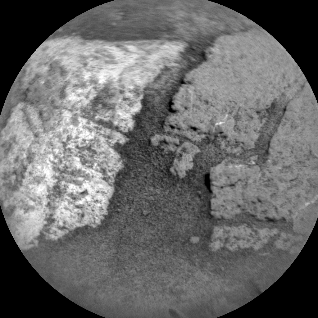 Nasa's Mars rover Curiosity acquired this image using its Chemistry & Camera (ChemCam) on Sol 1381, at drive 310, site number 55