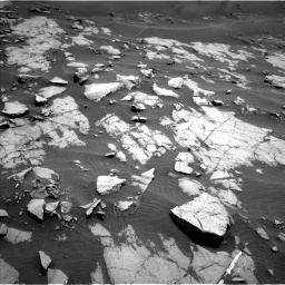 Nasa's Mars rover Curiosity acquired this image using its Left Navigation Camera on Sol 1383, at drive 364, site number 55
