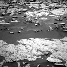 Nasa's Mars rover Curiosity acquired this image using its Left Navigation Camera on Sol 1383, at drive 460, site number 55