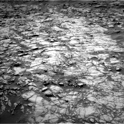 Nasa's Mars rover Curiosity acquired this image using its Left Navigation Camera on Sol 1383, at drive 532, site number 55