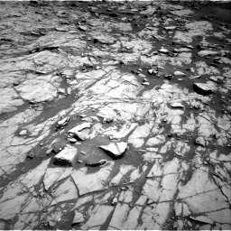 Nasa's Mars rover Curiosity acquired this image using its Right Navigation Camera on Sol 1383, at drive 328, site number 55