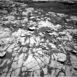 Nasa's Mars rover Curiosity acquired this image using its Right Navigation Camera on Sol 1383, at drive 334, site number 55