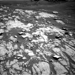 Nasa's Mars rover Curiosity acquired this image using its Right Navigation Camera on Sol 1383, at drive 346, site number 55
