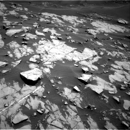 Nasa's Mars rover Curiosity acquired this image using its Right Navigation Camera on Sol 1383, at drive 358, site number 55
