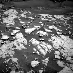 Nasa's Mars rover Curiosity acquired this image using its Right Navigation Camera on Sol 1383, at drive 370, site number 55