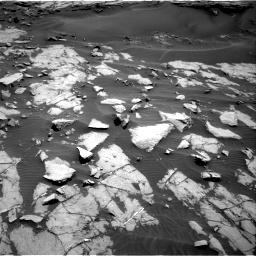 Nasa's Mars rover Curiosity acquired this image using its Right Navigation Camera on Sol 1383, at drive 376, site number 55