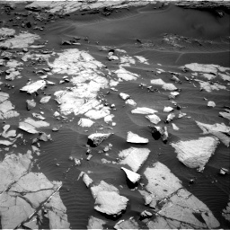 Nasa's Mars rover Curiosity acquired this image using its Right Navigation Camera on Sol 1383, at drive 382, site number 55
