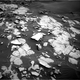 Nasa's Mars rover Curiosity acquired this image using its Right Navigation Camera on Sol 1383, at drive 394, site number 55