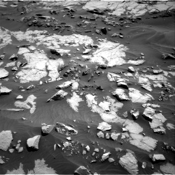 Nasa's Mars rover Curiosity acquired this image using its Right Navigation Camera on Sol 1383, at drive 406, site number 55