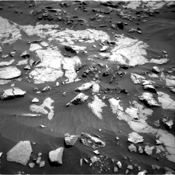 Nasa's Mars rover Curiosity acquired this image using its Right Navigation Camera on Sol 1383, at drive 412, site number 55