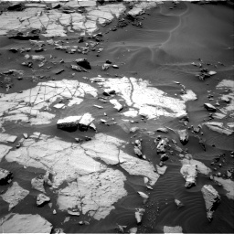 Nasa's Mars rover Curiosity acquired this image using its Right Navigation Camera on Sol 1383, at drive 436, site number 55