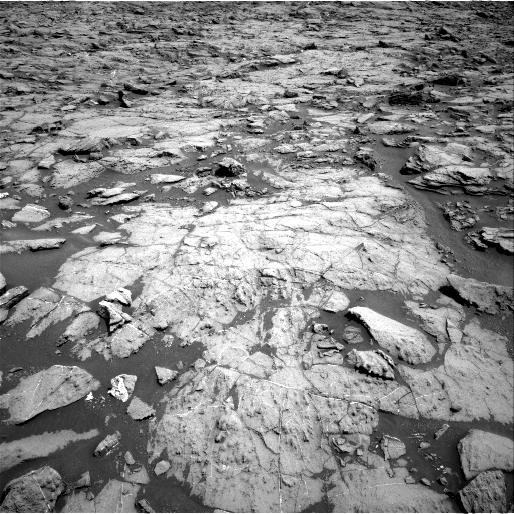 Nasa's Mars rover Curiosity acquired this image using its Right Navigation Camera on Sol 1383, at drive 502, site number 55