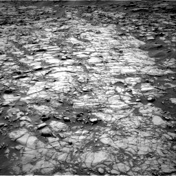 NASA's Mars rover Curiosity acquired this image using its Right Navigation Cameras (Navcams) on Sol 1383