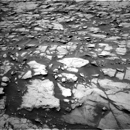 Nasa's Mars rover Curiosity acquired this image using its Left Navigation Camera on Sol 1384, at drive 592, site number 55