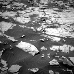 Nasa's Mars rover Curiosity acquired this image using its Left Navigation Camera on Sol 1384, at drive 718, site number 55