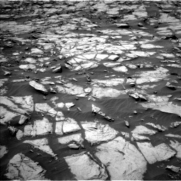 Nasa's Mars rover Curiosity acquired this image using its Left Navigation Camera on Sol 1384, at drive 760, site number 55