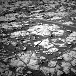 Nasa's Mars rover Curiosity acquired this image using its Left Navigation Camera on Sol 1384, at drive 832, site number 55