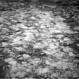 Nasa's Mars rover Curiosity acquired this image using its Right Navigation Camera on Sol 1384, at drive 538, site number 55