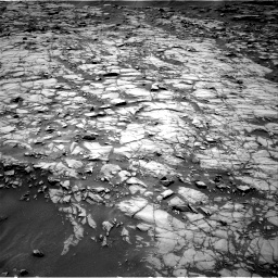 Nasa's Mars rover Curiosity acquired this image using its Right Navigation Camera on Sol 1384, at drive 544, site number 55