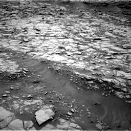 Nasa's Mars rover Curiosity acquired this image using its Right Navigation Camera on Sol 1384, at drive 556, site number 55