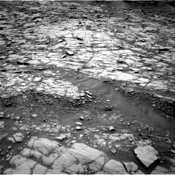 Nasa's Mars rover Curiosity acquired this image using its Right Navigation Camera on Sol 1384, at drive 562, site number 55