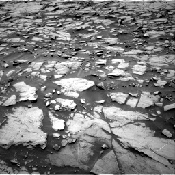 Nasa's Mars rover Curiosity acquired this image using its Right Navigation Camera on Sol 1384, at drive 592, site number 55