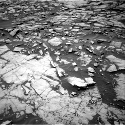 Nasa's Mars rover Curiosity acquired this image using its Right Navigation Camera on Sol 1384, at drive 610, site number 55