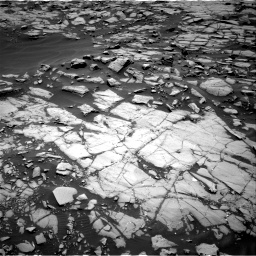 Nasa's Mars rover Curiosity acquired this image using its Right Navigation Camera on Sol 1384, at drive 622, site number 55