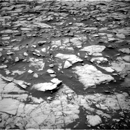 Nasa's Mars rover Curiosity acquired this image using its Right Navigation Camera on Sol 1384, at drive 634, site number 55